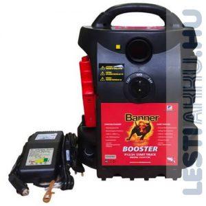 Banner Booster P12 24 Start Truck Akkumulátor indításrásegítő bikázó készülék 12 24V 3200 1600A