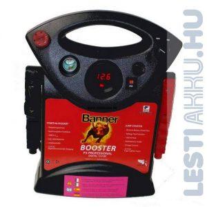 Banner Booster P3 Professional Akkumulátor indításrásegítő bikázó készülék 12V 1600A