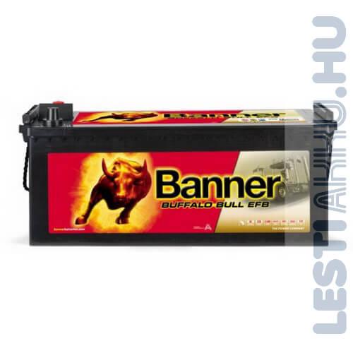 Banner Buffalo Bull EFB Akkumulátor 12V 190Ah 1050A Bal+ (EFB 69017)