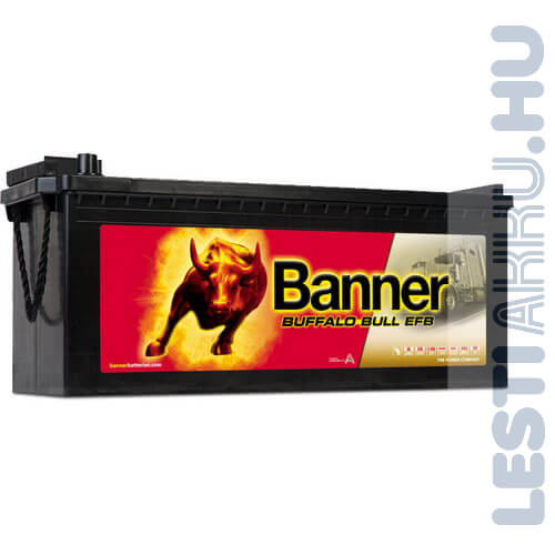 Banner Buffalo Bull EFB Akkumulátor 12V 240Ah 1200A Bal+ (EFB 74017)