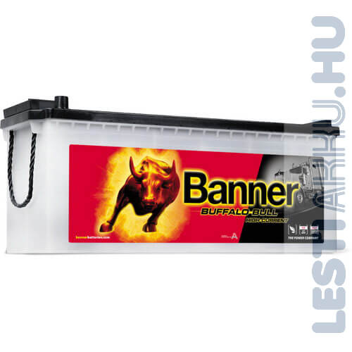 Banner Buffalo Bull High Current Akkumulátor 12V 150Ah 1150A Bal+ (65011)