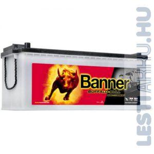 Banner Buffalo Bull High Current Akkumulátor 12V 180Ah 1400A Bal+ (68011)