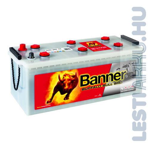 Banner Buffalo Bull SHD Akkumulátor 12V 180Ah 1000A Bal+ (SHD 68032)