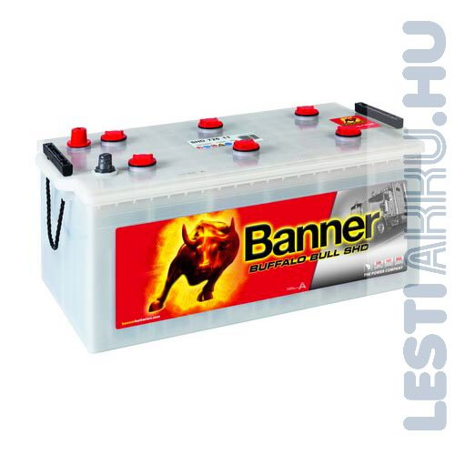 Banner Buffalo Bull SHD Akkumulátor 12V 225Ah 1150A Bal+ (SHD 72511)