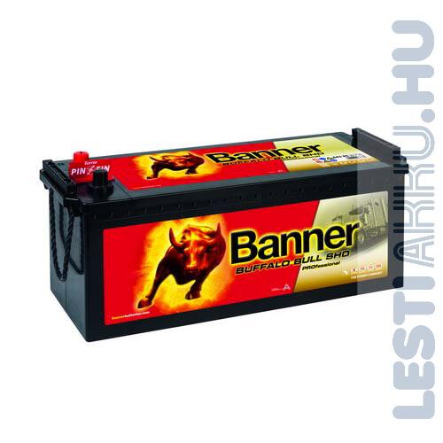 Banner Buffalo Bull SHD Professional Akkumulátor 12V 145Ah 800A Bal+ (SHD 64503)