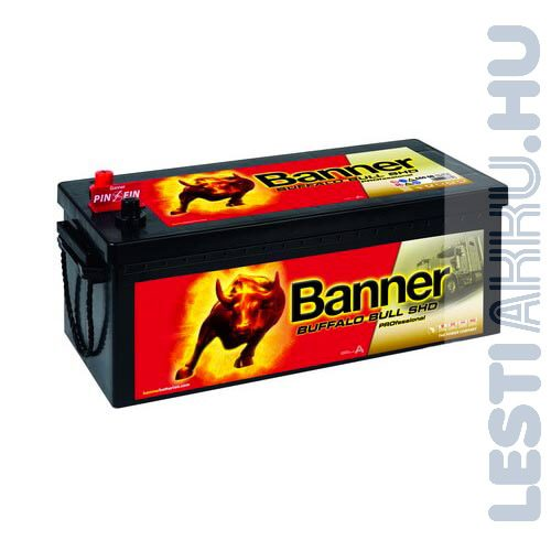Banner Buffalo Bull SHD Professional Akkumulátor 12V 180Ah 1000A Bal+ (SHD 68008)