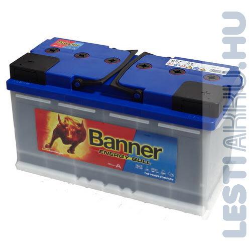 Banner Energy Bull munka akkumulátor 12V 100Ah Jobb+ (95751)