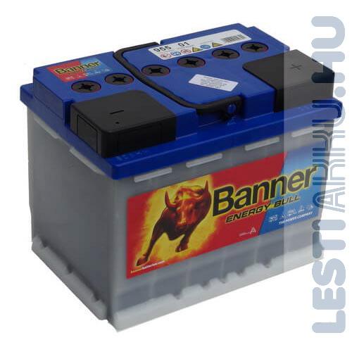 Banner Energy Bull munka akkumulátor 12V 60Ah Jobb+ (95501)