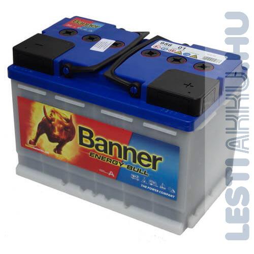Banner Energy Bull munka akkumulátor 12V 80Ah Jobb+ (95601)