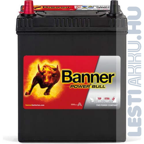 Banner Power Bull Autó Akkumulátor 12V 40Ah 330A Japán Bal+ (P4027)