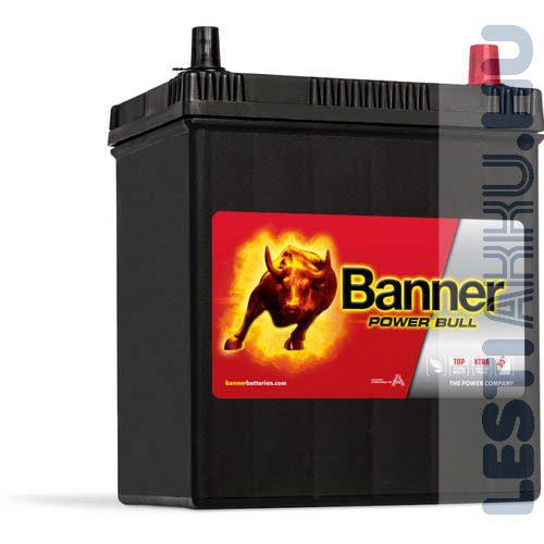 Banner Power Bull Autó Akkumulátor 12V 40Ah 330A Japán Jobb+ (P4026)