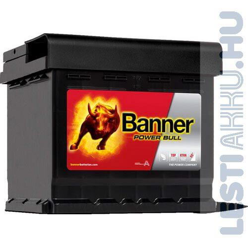 Banner Power Bull Autó Akkumulátor 12V 44Ah 420A Jobb+ (P4409)