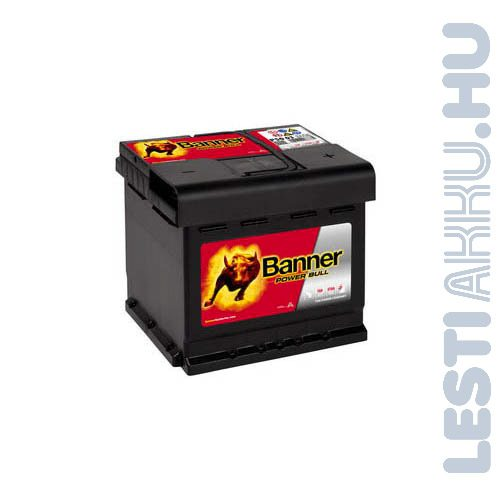 Banner Power Bull Autó Akkumulátor 12V 50Ah 450A Jobb+ (P5003)