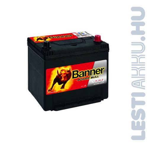 Banner Power Bull Auto Akkumulator 12v 60ah 510a Japan Jobb+ (p6062)