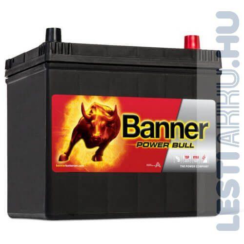 Banner Power Bull Autó Akkumulátor 12V 60Ah 510A Japán Jobb+ (P6068)