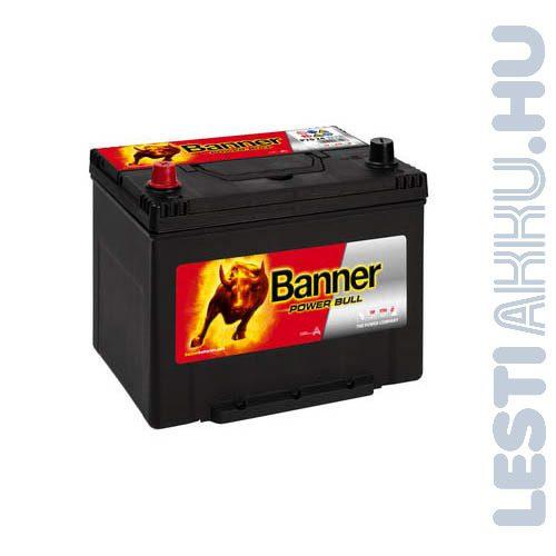 Banner Power Bull Autó Akkumulátor 12V 70Ah 600A Japán Bal+ (P7024)