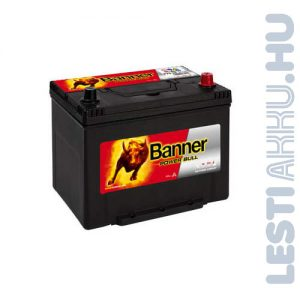 Banner Power Bull Autó Akkumulátor 12V 70Ah 600A Japán Jobb+ (P7029)