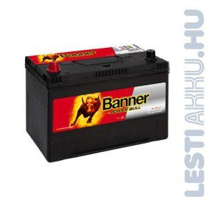 Banner Power Bull Autó Akkumulátor 12V 95Ah 740A Japán Bal+ (P9505)
