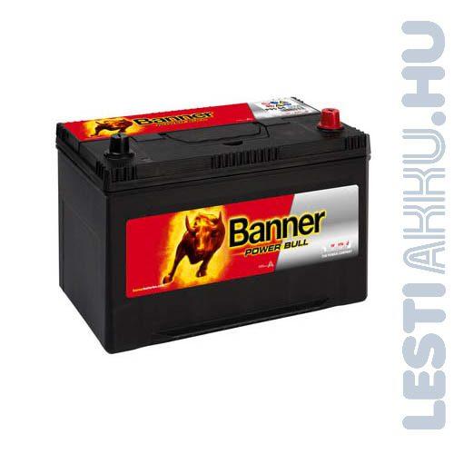 Banner Power Bull Autó Akkumulátor 12V 95Ah 740A Japán Jobb+ (P9504)