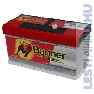 Banner Power Bull PROFESSIONAL Autó Akkumulátor 12V 110Ah 900A Jobb+ (PRO P11040)