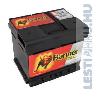 Banner Power Bull PROFESSIONAL Autó Akkumulátor 12V 50Ah 400A Jobb+ (PRO P5042)