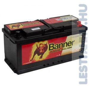 Banner Running Bull Akkumulátor AGM 12V 105Ah 950A Jobb+ (60501)