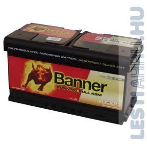 Banner Running Bull Akkumulátor AGM 12V 92Ah 850A Jobb+ (59201)