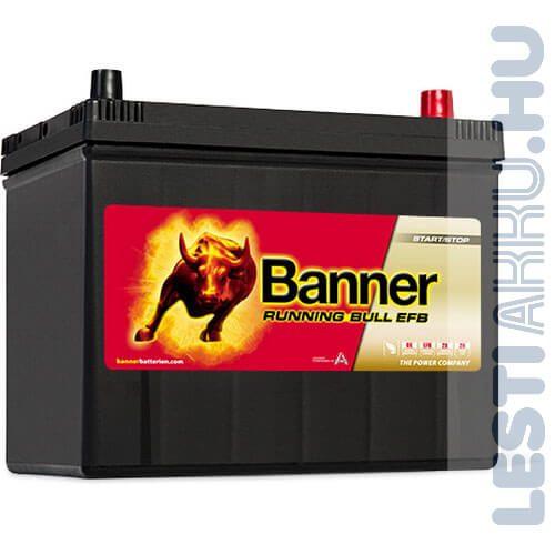 Banner Running Bull Autó Akkumulátor EFB 12V 70Ah 680A Japán Jobb+ (57015)