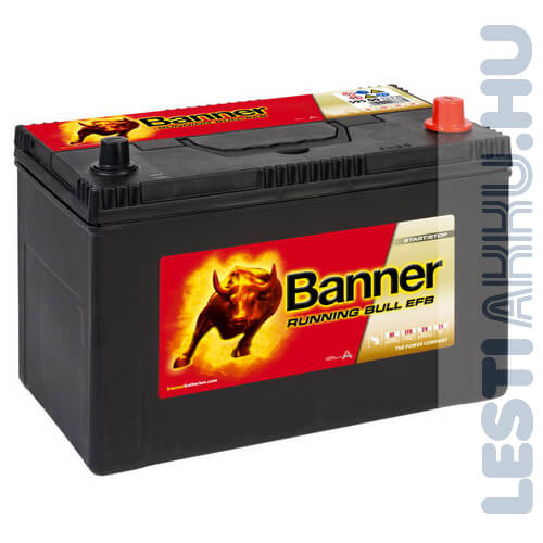 Banner Running Bull Autó Akkumulátor EFB 12V 95Ah 760A Japán Jobb+ (59515)
