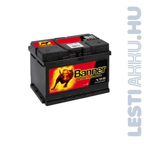 Banner Starting Bull Autó Akkumulátor 12V 60Ah 480A Jobb+ (56009)