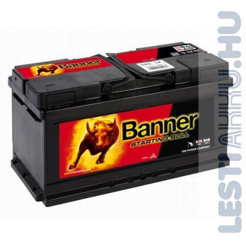 Banner Starting Bull Autó Akkumulátor 12V 80Ah 660A Jobb+ (58014)