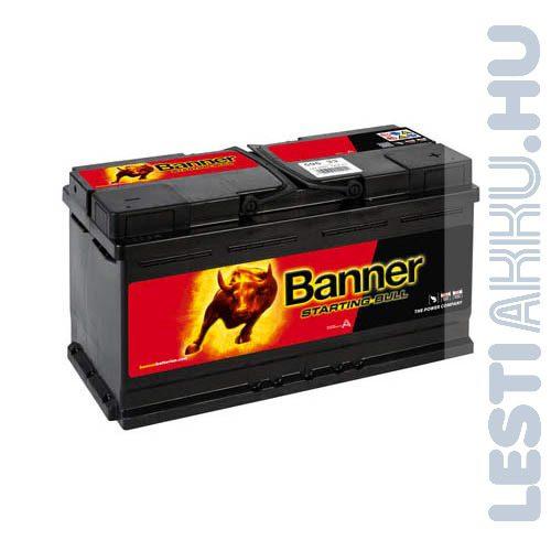 Banner Starting Bull Autó Akkumulátor 12V 95Ah 740A Jobb+ (59533)