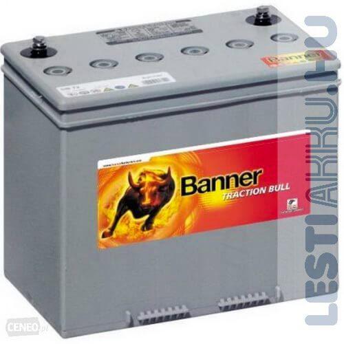 Banner Traction Bloc Dry Bull kerekesszék akkumulátor DB 40 12V 38Ah jobb+