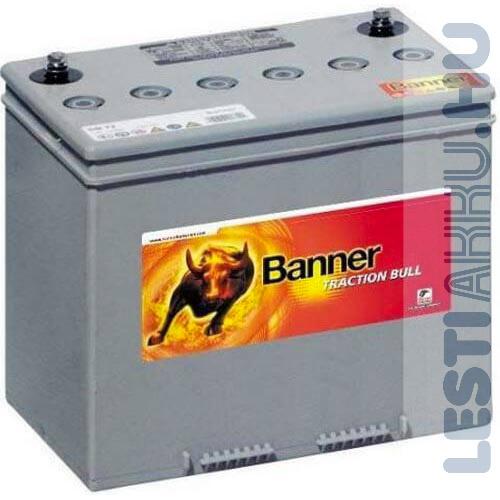 Banner Traction Bloc Dry Bull lakóautó akkumulátor DB 80 12V 80Ah jobb+