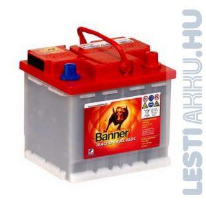 Banner Traction Bull Bloc PzF kerekesszék akkumulátor 12V 50Ah Jobb+