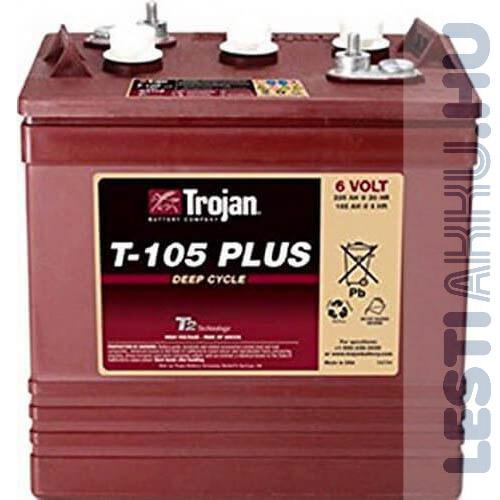 Banner Traction Bull Bloc Trojan emelőpad akkumulátor 3 9 GiS 197 BS 6V 225Ah T 105 Plus