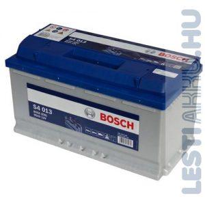 BOSCH Silver S4 Autó Akkumulátor 12V 95Ah 800A Jobb+ (0092S40130)