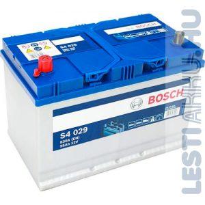 BOSCH Silver S4 Autó Akkumulátor 12V 95Ah 830A Japán Bal+ (0092S40290)