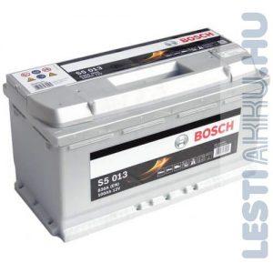 BOSCH Silver S5 Autó Akkumulátor 12V 100Ah 830A Jobb+ (0092S50130)