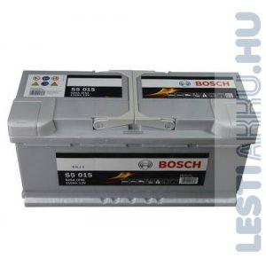 BOSCH Silver S5 Autó Akkumulátor 12V 110Ah 920A Jobb+ (0092S50150)