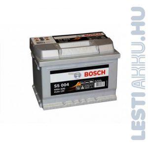BOSCH Silver S5 Autó Akkumulátor 12V 61Ah 600A Jobb+ (0092S50040)