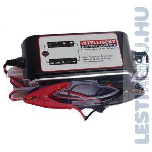 Carstel Battery Charger Akkumulátor töltő 12V 8 Amp (T01.80.088)