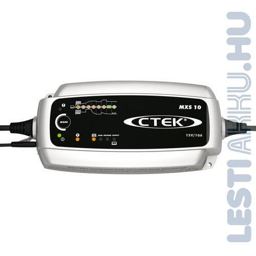 CTEK MXS 10 Akkumulátor töltő 12V 10 Amp (56-844)