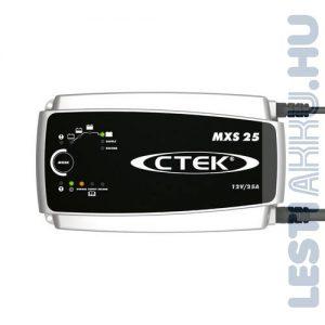 CTEK MXS 25 Akkumulátor töltő 12V 25 Amp (56-732)