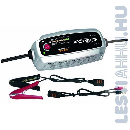 CTEK MXS 5.0 Akkumulátor töltő 12V 5 Amp (56-999)