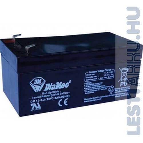 DiaMec Szünetmentes akkumulátor 12V 3