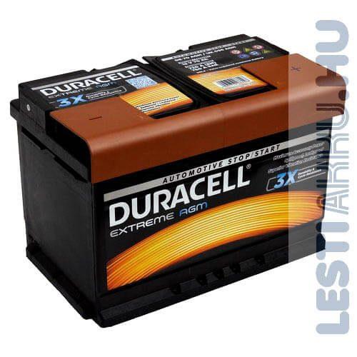 Duracell akkumulátor