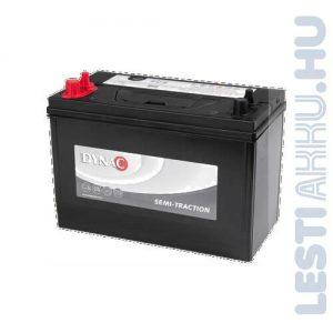 DYNAC Semi-Traction munka akkumulátor 12V 105Ah Bal+