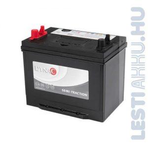 DYNAC Semi-Traction munka akkumulátor 12V 80Ah Bal+