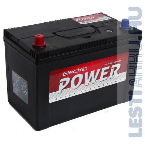 Electric Power Autó Akkumulátor 12V 100Ah 750A Japán Bal+